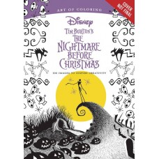 ART OF COLORING TIM BURTONS NIGHTMARE BEFORE CHRISTMAS SC