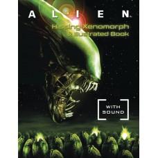 ALIEN HISSING XENOMORPH & ILLUS BOOK KIT W SOUND