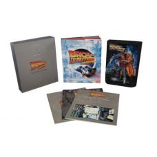 BACK TO THE FUTURE SCULPTED MOVIE POSTER & ULT VISUAL HIST