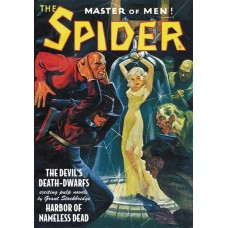 SPIDER DOUBLE NOVEL #12 DEVILS DEATH DWARFS & NAMELESS DEAD