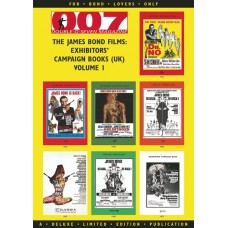 BOND FILMS EXHIBITORS CAMPAIGN BOOKS TP VOL 01