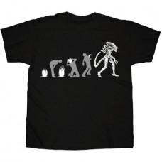ALIEN EVOLUTION BLACK T/S XXL