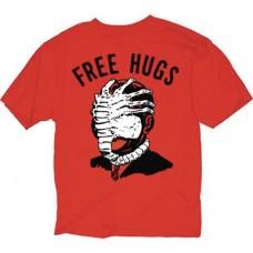ALIEN FREE HUGS RED T/S SM