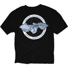 ALIEN COVENANT SHIP PATCH BLACK T/S XXL