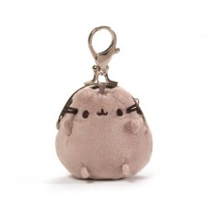 PUSHEEN 3IN GREY COIN PURSE