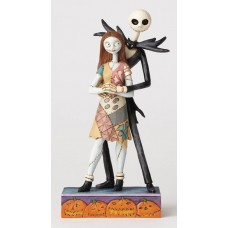 DISNEY TRADITIONS NBX NIGHTMARE JACK AND SALLY FIG