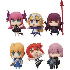 FATE/GRAND ORDER LEARNING WITH MANGA 6PC BMB TRADING FIGURES