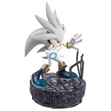 SONIC THE HEDGEHOG SILVER THE HEDGEHOG STATUE
