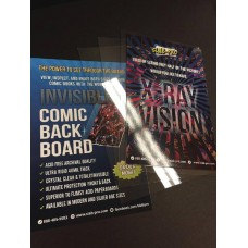 SLAB PRO QUALIFIED INVISIBLE COMIC BOARD SILVER SIZE