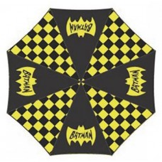 DC COMICS BATMAN GEO PATTERN PANEL UMBRELLA