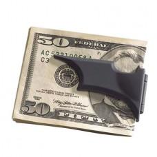 BATARANG FOLDING MONEY CLIP BLACK METAL (Net)