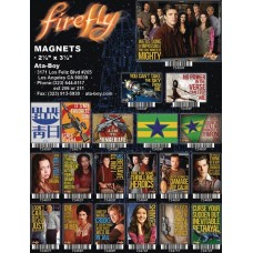 FIREFLY 48 PIECE MAGNET ASST (Net)