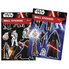 STAR WARS WALL STICKER 100CT DISPLAY