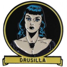 TALES FROM THE CRYPT DRUSILLA LAPEL PIN