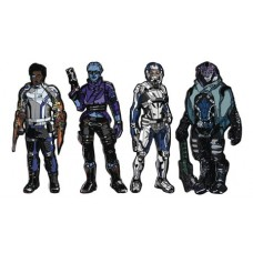 FIGPIN MASS EFFECT ANDROMEDA ENAMEL FIGURE PIN 6PC ASST