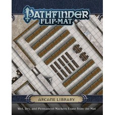 PATHFINDER FLIP MAT ARCANE LIBRARY