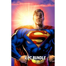 SUPERMAN #1 BUNDLE 4 PC SET