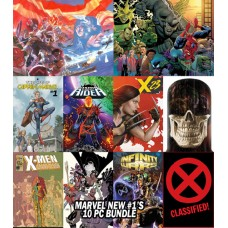 NEW MARVEL #1'S 10 PC BUNDLE