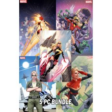 CAROL DANVERS 50TH VARIANT BUNDLE 5 PC SET
