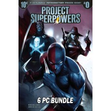 PROJECT SUPERPOWERS #0 CVR A-F BUNDLE SET