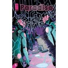 PARADISO #5 CVR A PRAMANIK & CUNNIFFE (MR)
