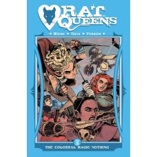RAT QUEENS TP VOL 05 COLOSSAL MAGIC NOTHING (MR) (MR)