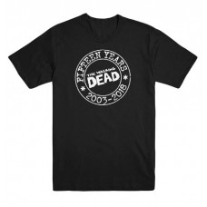 WALKING DEAD 15TH ANNV XXL T/S