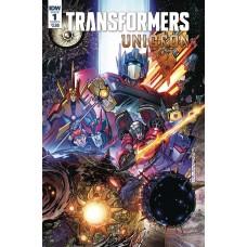 TRANSFORMERS UNICRON #1 (OF 6) CVR A MILNE