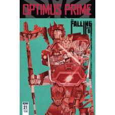 OPTIMUS PRIME #21 CVR B COLLER
