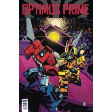 OPTIMUS PRIME #22 CVR A ZAMA
