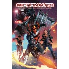 MICRONAUTS INTO THE MICROSPACE TP