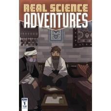 REAL SCIENCE ADVENTURES NICODEMUS JOB #1 CVR A MCCLAREN