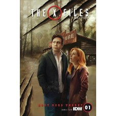 X-FILES CASE FILES HOOT GOES THERE #1 (OF 2) CVR A NODET