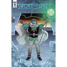 SWORD OF AGES #5 CVR A RODRIGUEZ