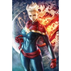 LIFE OF CAPTAIN MARVEL #1 (OF 5) ARTGERM VARIANT