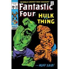 TRUE BELIEVERS FANTASTIC FOUR HULK VS THING #1