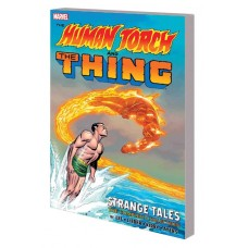 HUMAN TORCH AND THING TP STRANGE TALES COMPLETE COLLECTION