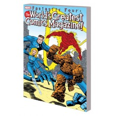 FANTASTIC FOUR TP WORLDS GREATEST COMICS MAGAZINE