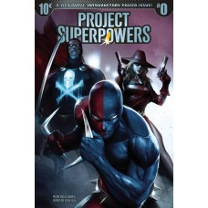 PROJECT SUPERPOWERS #0 CVR A MATTINA (EXTRA COPIES)