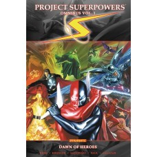 PROJECT SUPERPOWERS OMNIBUS TP VOL 01 DAWN OF HEROES