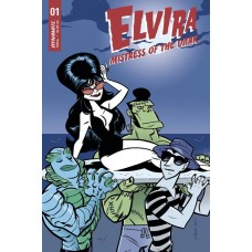 ELVIRA MISTRESS OF DARK #1 CVR B BONE