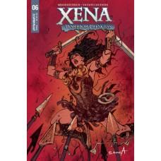 XENA #6 (OF 5) CVR A DAVILA