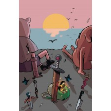 ADVENTURE TIME BEGINNING OF END #3 SUBSCRIPTION DAGUNA VARIANT