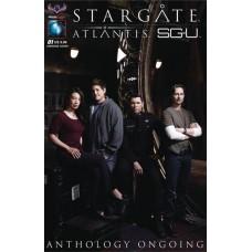 STARGATE ATLANTIS UNIVERSE ANTHOLOGY ONGOING #1 SGA PHOTO CV
