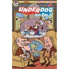 UNDERDOG & PALS #1 GALLANT COMMANDER MCBRAGG CVR