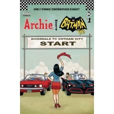ARCHIE MEETS BATMAN 66 #1 CVR F TEMPLETON