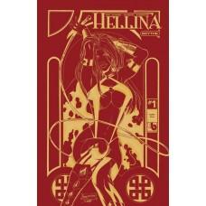 HELLINA SCYTHE #1 GOLDEN FIRE LEATHER (MR)