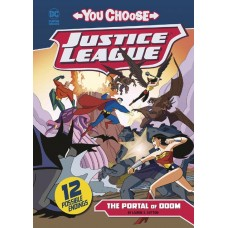 JUSTICE LEAGUE YOU CHOOSE YR TP PORTAL OF DOOM