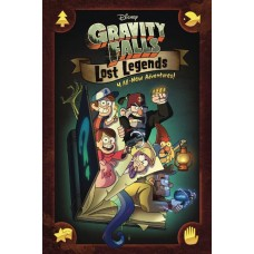 DISNEY GRAVITY FALLS LOST LEGENDS HC GN