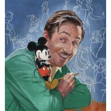 WALTS IMAGINATION THE LIFE OF WALT DISNEY HC